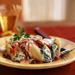 Four-Cheese Stuffed Shells with Smoky Marinara