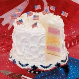 Fourth of July Ice Cream Cake