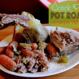 Freezer Meal Recipes: Pot Roast