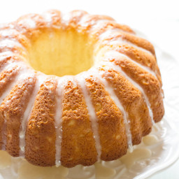 french cruller bundt cake