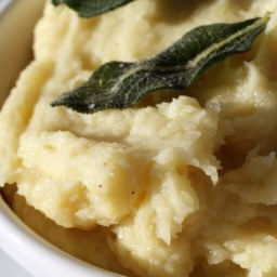 French in a Flash: Parsnip Purée with Olive Oil and Sage