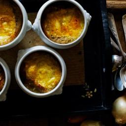 French Onion Soup with Comté