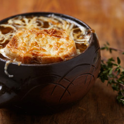 French Onion Soup with Porcini