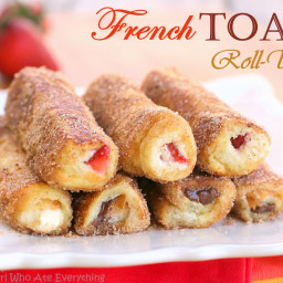 Recipes Course Breakfast French Toast French Toast Roll-Ups