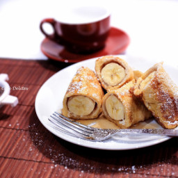 French Toast Banana Fritters!