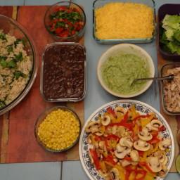 Fresh and Healthy Burrito Bowl