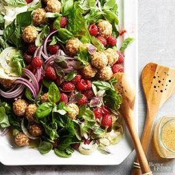 Fresh Basil Salad