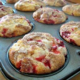 Fresh Strawberry Muffins
