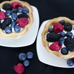 Fresh Fruit Tartlets Recipe