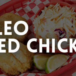 Fried Chicken With Spicy Cumin Coleslaw Recipe
