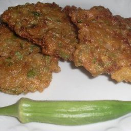 Fried Okra Patties
