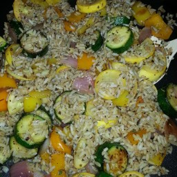 Fried Rice and Vegetables by LMB