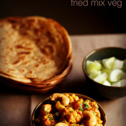 fried mix vegetable recipe