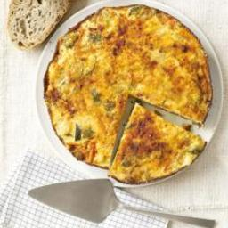 No Meat Frittata with Vegetables