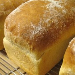 ( From Bread Mix ) Homemade White Bread