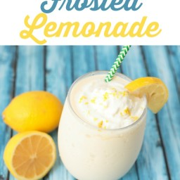 Frosted and Frozen Lemonade