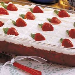 Frosted Strawberry Salad