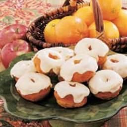 Frosted Pumpkin Doughnuts Recipe