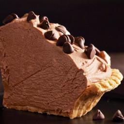 Frozen Chocolate Mousse Pie