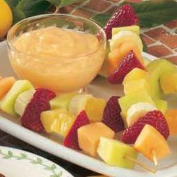 Fruit Kabobs with Citrus Dip Recipe