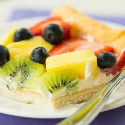 Fruit Pizza - Brown Eyed Baker