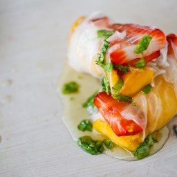 Fruit Spring Rolls