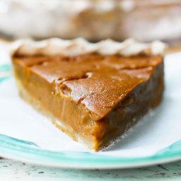 Fruit-Sweetened Pumpkin Pie