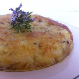 Gachamiga, la tortilla de patata sin huevo.