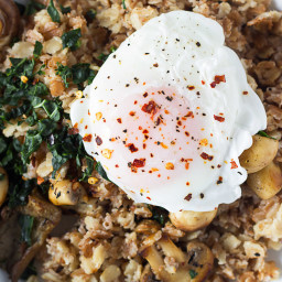 Game Changing Savoury Oatmeal