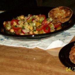 Garbonzo Bean (Chick Pea) Salad