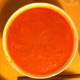 Garden Tomato & Basil Soup