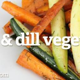 Garlic and Dill Vegetables