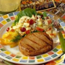 Garlic and Orange Marinated Grilled Pork Chops