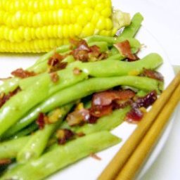 Garlic Beans Three Ways