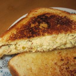 Garlic Butter Tuna Melt