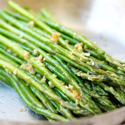 Garlic Herb Butter Sauteed Asparagus