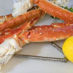 Garlic King Crab Legs