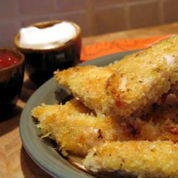 Garlic Panko Chicken Strips