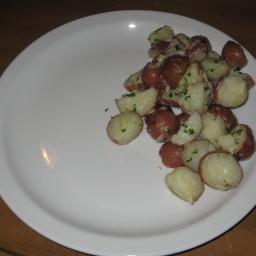 Garlic Parmesan Baby Potatoes