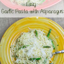 Garlic Pasta with Asparagus