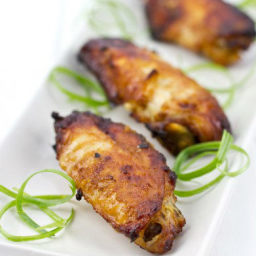 Garlic Miso Chicken Wings