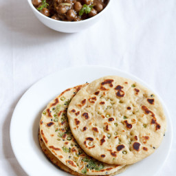 garlic naan, how to make garlic naan recipe