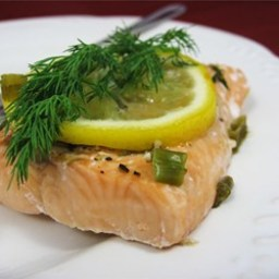 Garlic Salmon