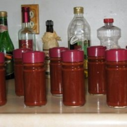 Garth's Fall Hot Pepper Sauce