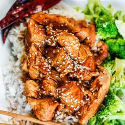 General Tso's chicken crock pot