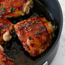 General Tso's Chicken Thighs