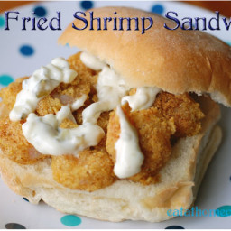 Pan Fried Shrimp Sandwich