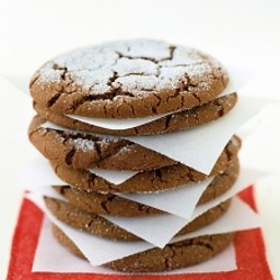 Giant Ginger Cookies