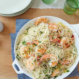 Gina's Shrimp Scampi with Angel Hair Pasta