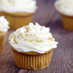 Ginger Brown Sugar Cupcakes